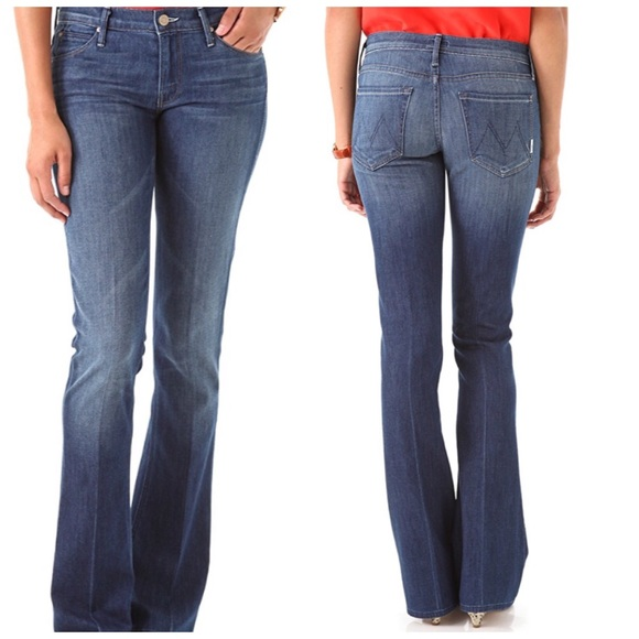 84668b4cb57c Mother Denim The Runaway Double Take Flare Jeans. M_5b4ba133a31c33b024eee4fd